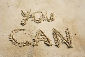 you can written in sand