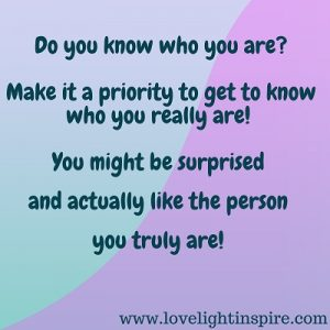 be surprised how much you like you-Love Light Inspiration quote