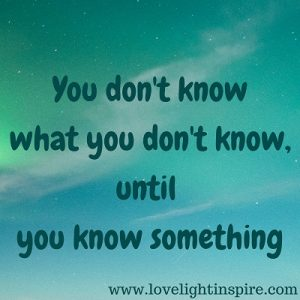 you don't know....Love Light Inspiration Quote