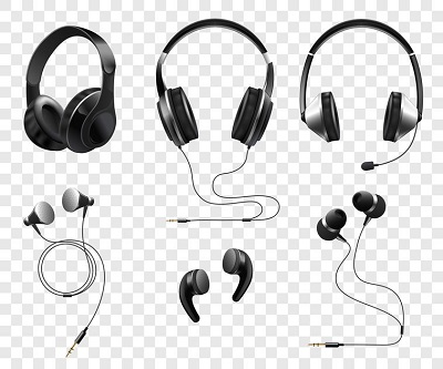 headphones and earphones