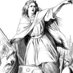 Queen Boudicea harnessing her intentions