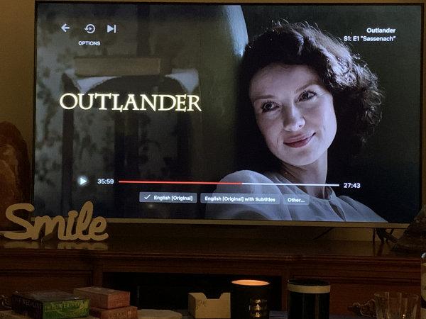 Outlander a tv series for women