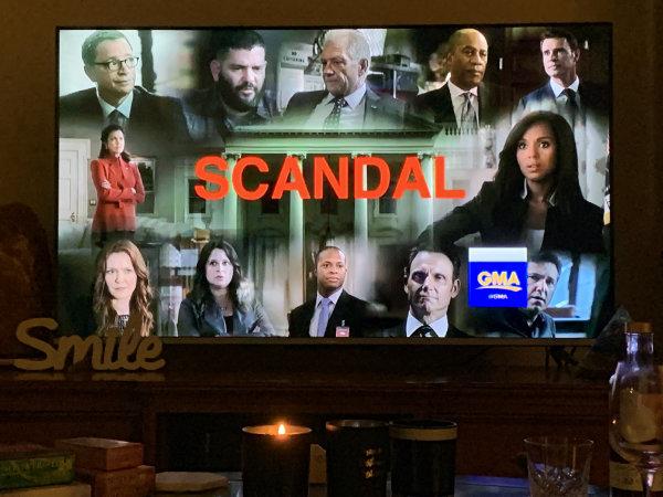 Scandal  tv series to binge