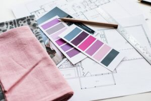 colours and plans to renovate a home